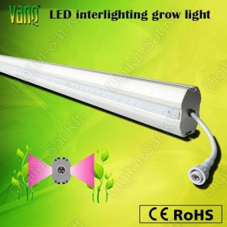 LuxEria LILY 150W LED Full Spektrumú világítás IP65 300cm Hidropóniás és Aquapóniás rendszerekhez függőleges és vízszintes termesztéshez