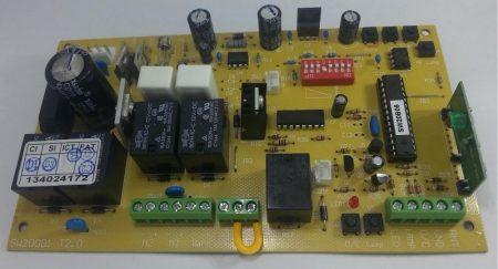 Moteck SW-300 vezérlő panel, alaplap kétszárnyú, egyszárnyú kapunyitóhoz