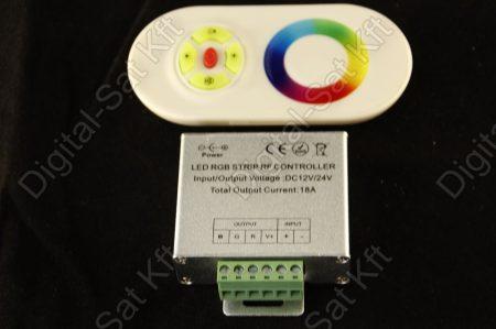 RGB led szalag vezérlő 216W touch, érintős, rádiós, vezeték nélküli