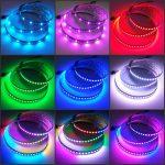 5050 Digitális LED szalag Programozható SK6812 144 LED/m Pixel LED