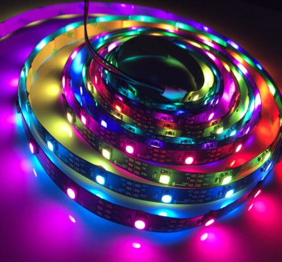 5050 Digitális LED szalag Programozható SK6812 30 LED/m Pixel LED