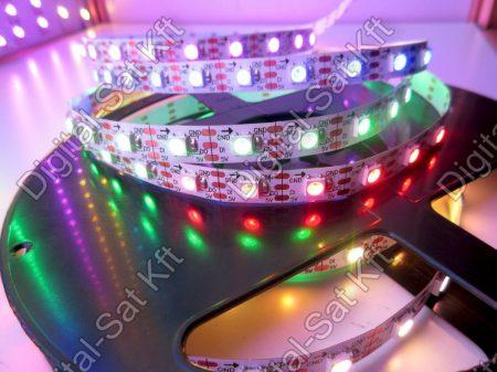 5050 Digitális LED szalag Programozható SK6812 60 LED/m Pixel LED