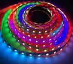 5050 Digitális LED szalag Programozható SK6812 72 LED/m Pixel LED