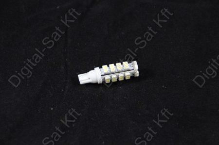 LED izzó T10 12V 3528 38 smd 6500K