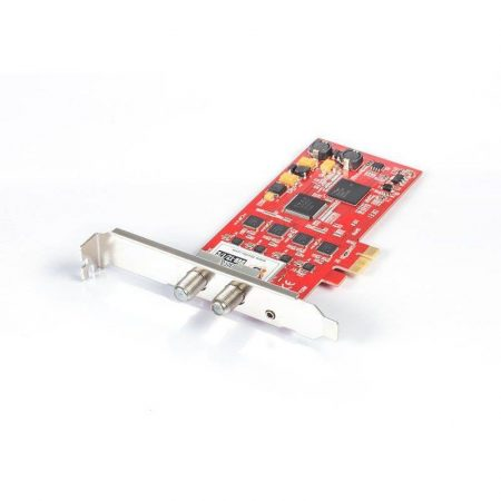 DVB-T2/C QUAD Tuner,PCIe DVB-T vagy DVB-C TV kártya, TBS-6205