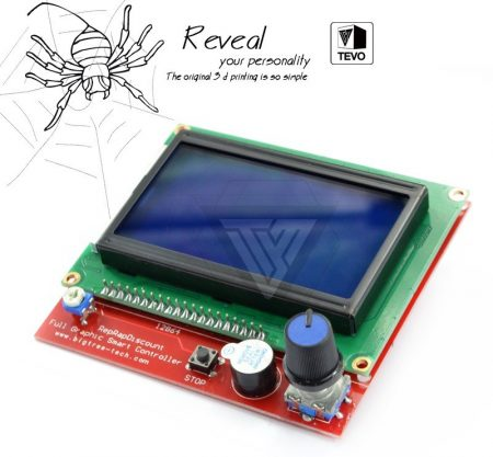 Tevo Black Widow RAMPS1.4 12864 LCD control panel