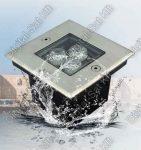 Varuna 5W LED taposólámpa, süllyesztett, kültéri IP67, járda, tér, kert világítás