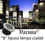 Varuna 9W LED taposólámpa, süllyesztett, kültéri IP67, járda, tér, kert világítás
