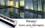Varuna 22W LED taposólámpa, süllyesztett, kültéri IP67, járda, tér, kert világítás