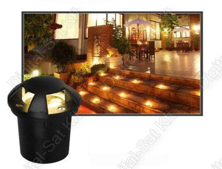 Varuna 12W LED süllyesztett DESIGN kültéri IP67, járda, tér, kert világítás