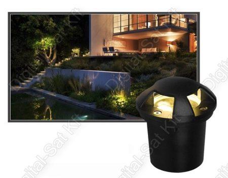 Varuna 5W LED süllyesztett DESIGN kültéri IP67, járda, tér, kert világítás