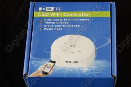 Wifi RGB RGBW LED szalag vezérlő, rádiós, vezeték nélküli