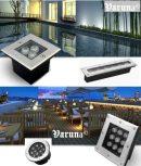 Varuna kültéri LED taposólámpa család