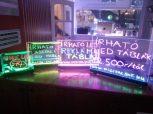 Üveg írható LED reklám táblák