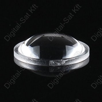 Konvex Optika, lencse 20mm 1W, 3W Power LED-hez