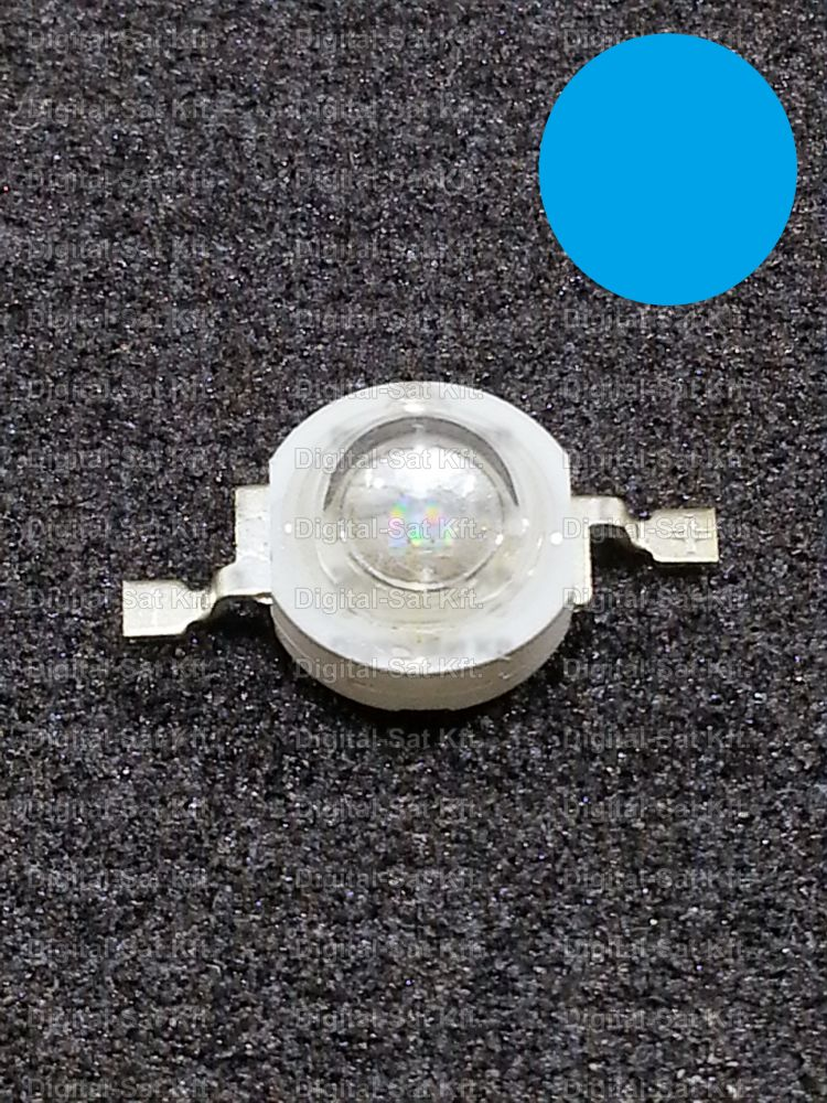 1W Power LED Kék 460-470nm