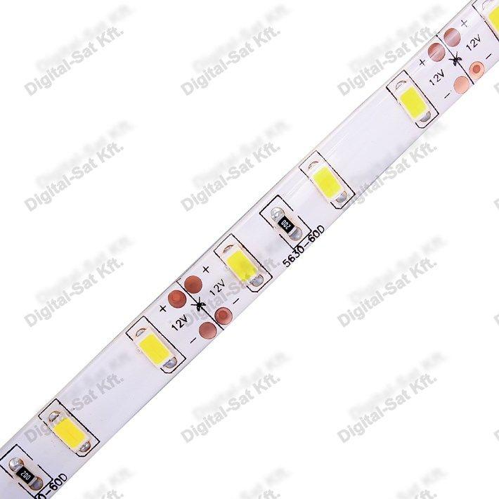 5630 LED szalag IP20 1cm 60 LED/m semleges fehér 2700 Lumen IP20