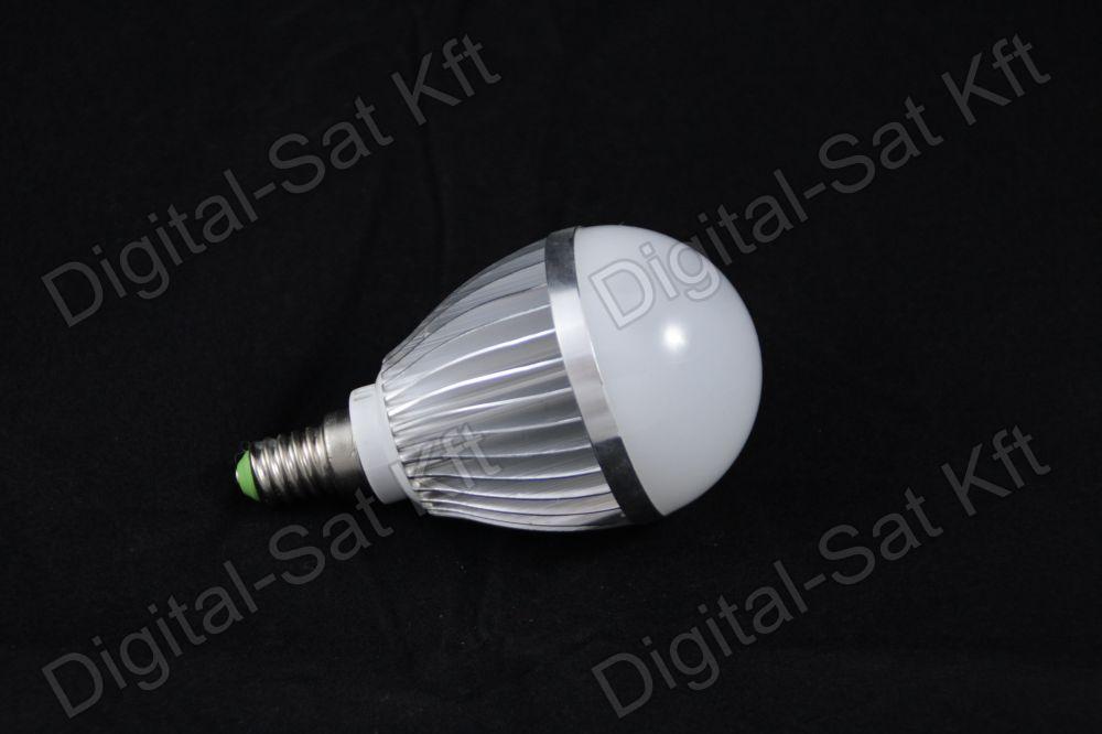 E14 LED 5W izzó 650 Lumen semleges fehér 2 év garancia