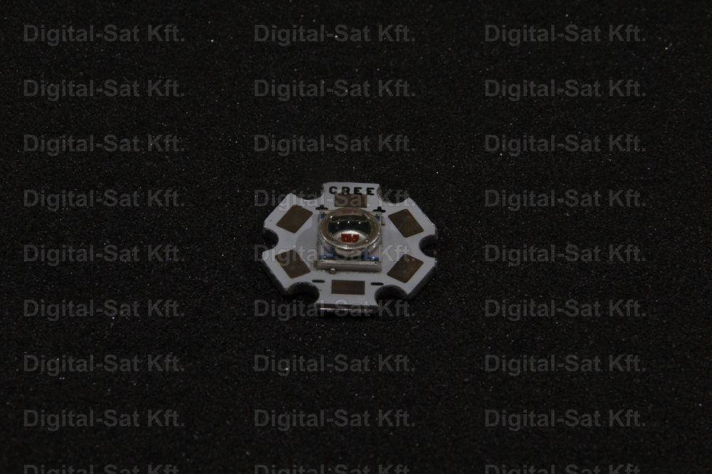 CREE Q5 XRE xr-e Q5 3W LED Sárga 20mm hűtőcsillagon